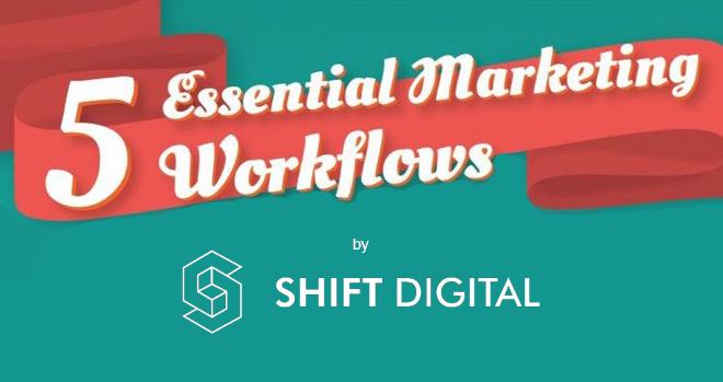 5 Essential Marketing Workflows